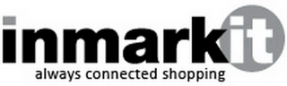 mark for INMARKIT ALWAYS CONNECTED SHOPPING, trademark #77825032