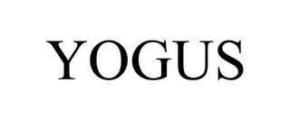 mark for YOGUS, trademark #77827747