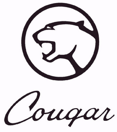 mark for COUGAR, trademark #77827805