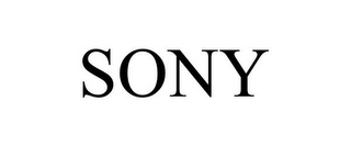 mark for SONY, trademark #77828739