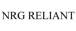 mark for NRG RELIANT, trademark #77829183