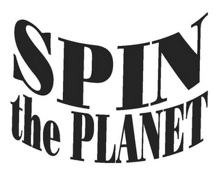 mark for SPIN THE PLANET, trademark #77833088