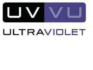 mark for UV VU ULTRAVIOLET, trademark #77833578