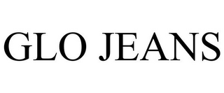 mark for GLO JEANS, trademark #77834737