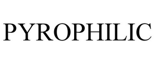 mark for PYROPHILIC, trademark #77836437