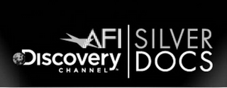 mark for AFI DISCOVERY CHANNELSILVER DOCS & DESIGN, trademark #77836554