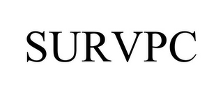 mark for SURVPC, trademark #77837509