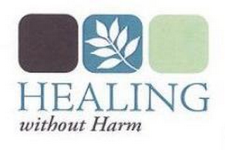 mark for HEALING WITHOUT HARM, trademark #77837511
