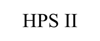 mark for HPS II, trademark #77837627