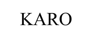 mark for KARO, trademark #77837935