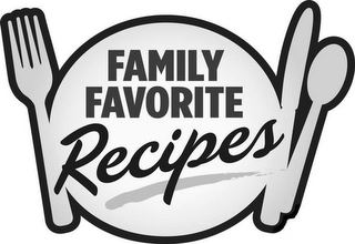 mark for FAMILY FAVORITE RECIPES, trademark #77837992