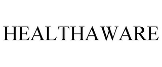 mark for HEALTHAWARE, trademark #77838338