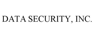 mark for DATA SECURITY, INC., trademark #77840286