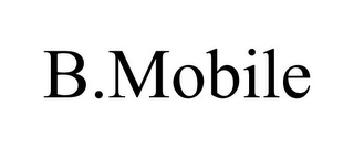 mark for B.MOBILE, trademark #77842244