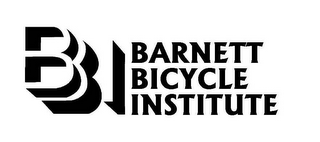 mark for BBI BARNETT BICYCLE INSTITUTE, trademark #77842761