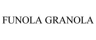 mark for FUNOLA GRANOLA, trademark #77843432