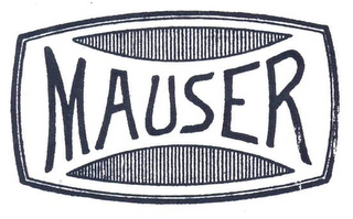 mark for MAUSER, trademark #77843882