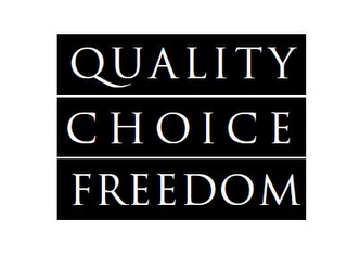 mark for QUALITY CHOICE FREEDOM, trademark #77850279