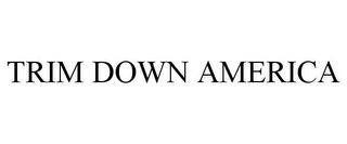 mark for TRIM DOWN AMERICA, trademark #77850299