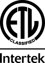 mark for ETL CLASSIFIED INTERTEK, trademark #77851560