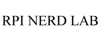 mark for RPI NERD LAB, trademark #77852973