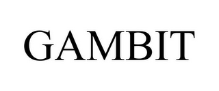 mark for GAMBIT, trademark #77855687