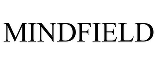 mark for MINDFIELD, trademark #77856198