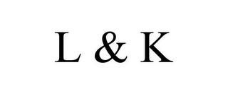 mark for L & K, trademark #77856512
