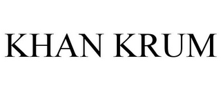mark for KHAN KRUM, trademark #77856798