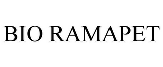 mark for BIO RAMAPET, trademark #77857524