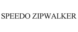 mark for SPEEDO ZIPWALKER, trademark #77859497