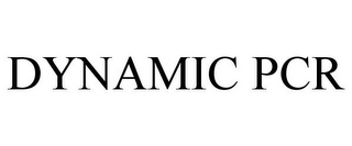 mark for DYNAMIC PCR, trademark #77859656