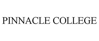 mark for PINNACLE COLLEGE, trademark #77860977