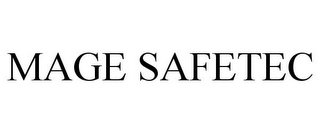 mark for MAGE SAFETEC, trademark #77861958
