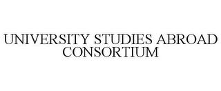 mark for UNIVERSITY STUDIES ABROAD CONSORTIUM, trademark #77863215