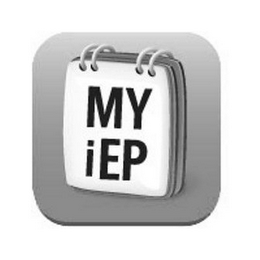 mark for MY IEP, trademark #77864775