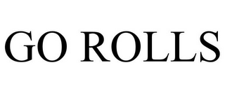 mark for GO ROLLS, trademark #77866307