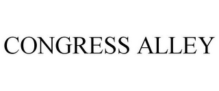 mark for CONGRESS ALLEY, trademark #77866649