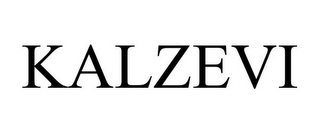 mark for KALZEVI, trademark #77867315