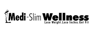 mark for MEDI-SLIM WELLNESS LOSE WEIGHT. LOSE INCHES. GET FIT, trademark #77870174