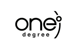 mark for ONE° DEGREE, trademark #77872365