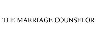 mark for THE MARRIAGE COUNSELOR, trademark #77872556