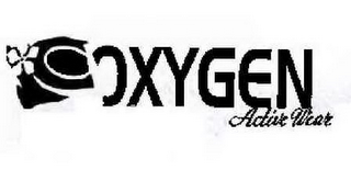 mark for O OXYGEN ACTIVE WEAR, trademark #77872596