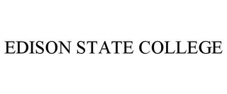 mark for EDISON STATE COLLEGE, trademark #77879539