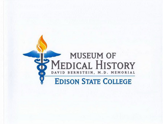mark for MUSEUM OF MEDICAL HISTORY DAVID BERNSTEIN, M.D. MEMORIAL EDISON STATE COLLEGE, trademark #77880156