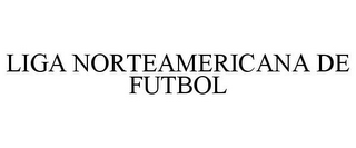 mark for LIGA NORTEAMERICANA DE FUTBOL, trademark #77880613