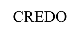 mark for CREDO, trademark #77882428