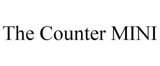 mark for THE COUNTER MINI, trademark #77883829