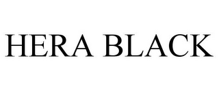 mark for HERA BLACK, trademark #77884297