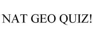 mark for NAT GEO QUIZ!, trademark #77884984